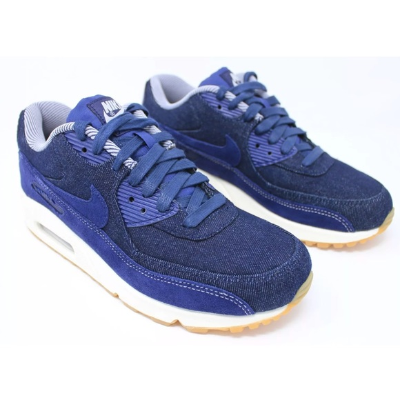 wholesale dealer 43274 52666 NIKE Denim AIR MAX 90 Shoes Womens Sz 9 US